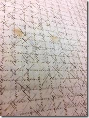 cross wriiten letter