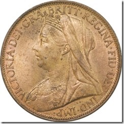 queen victoria late head