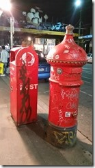old and new postboxes balaclava