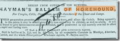 hayman's balsam