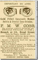 optician and spectaclemaker wales