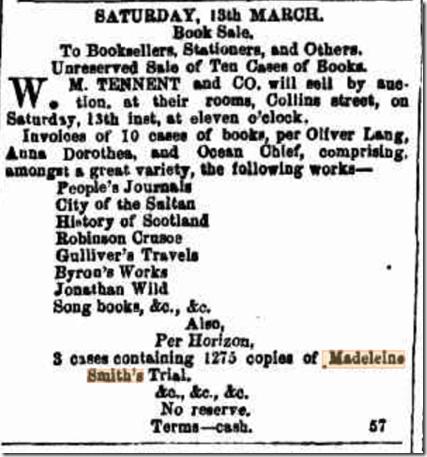 books fale the age 11 mar 1858