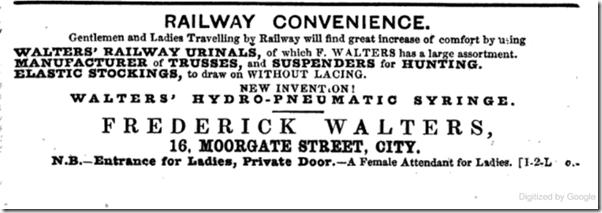 railway urinals